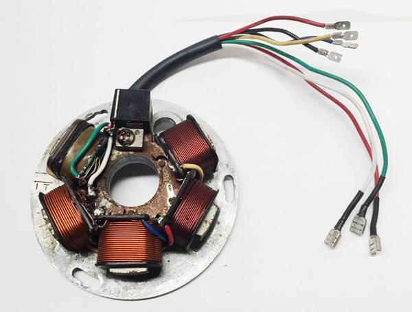 rewired stator